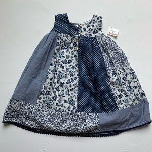 Blue & White dress NEW